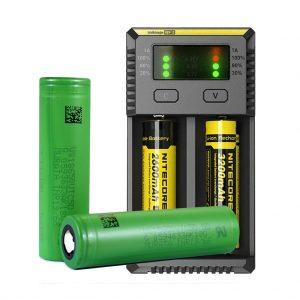 Vape Batteries charging unevenly