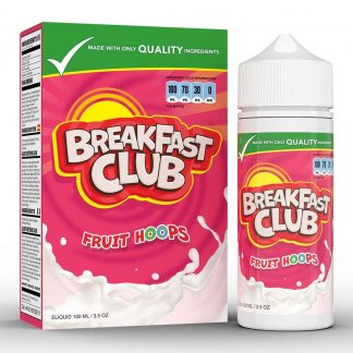 Breakfast Club e liquid Fruit Hoops at The Vapour Room Portsmouth